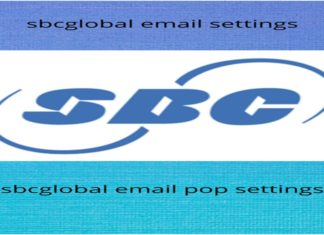 sbcglobal email settings