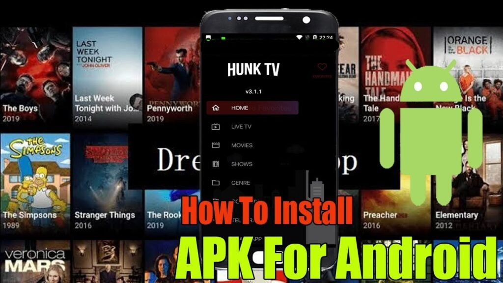 how to install hunk tv