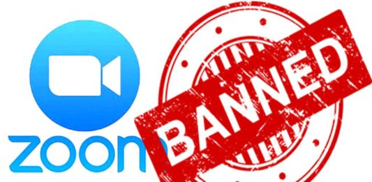 Who has banned Zoom