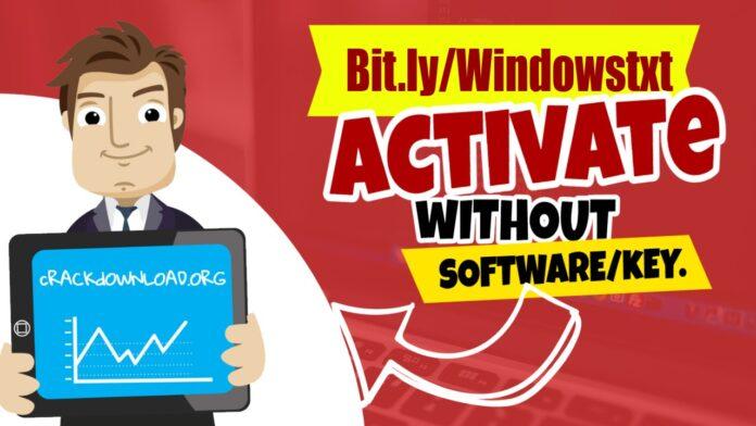 of Windows 10 activator txt