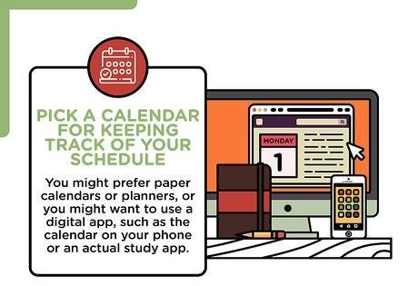 Study Plan for Exam Preparation